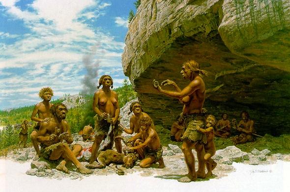 familia_neandertal