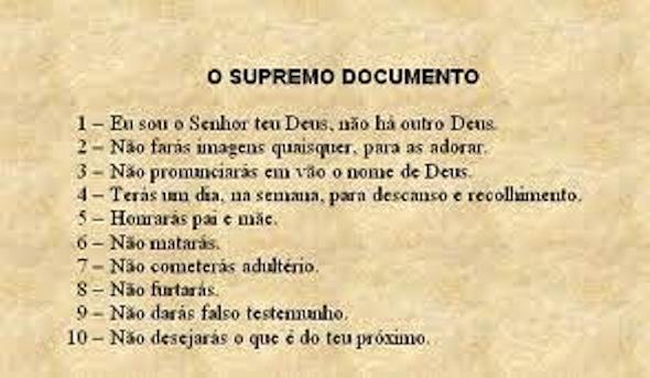 mandamentos